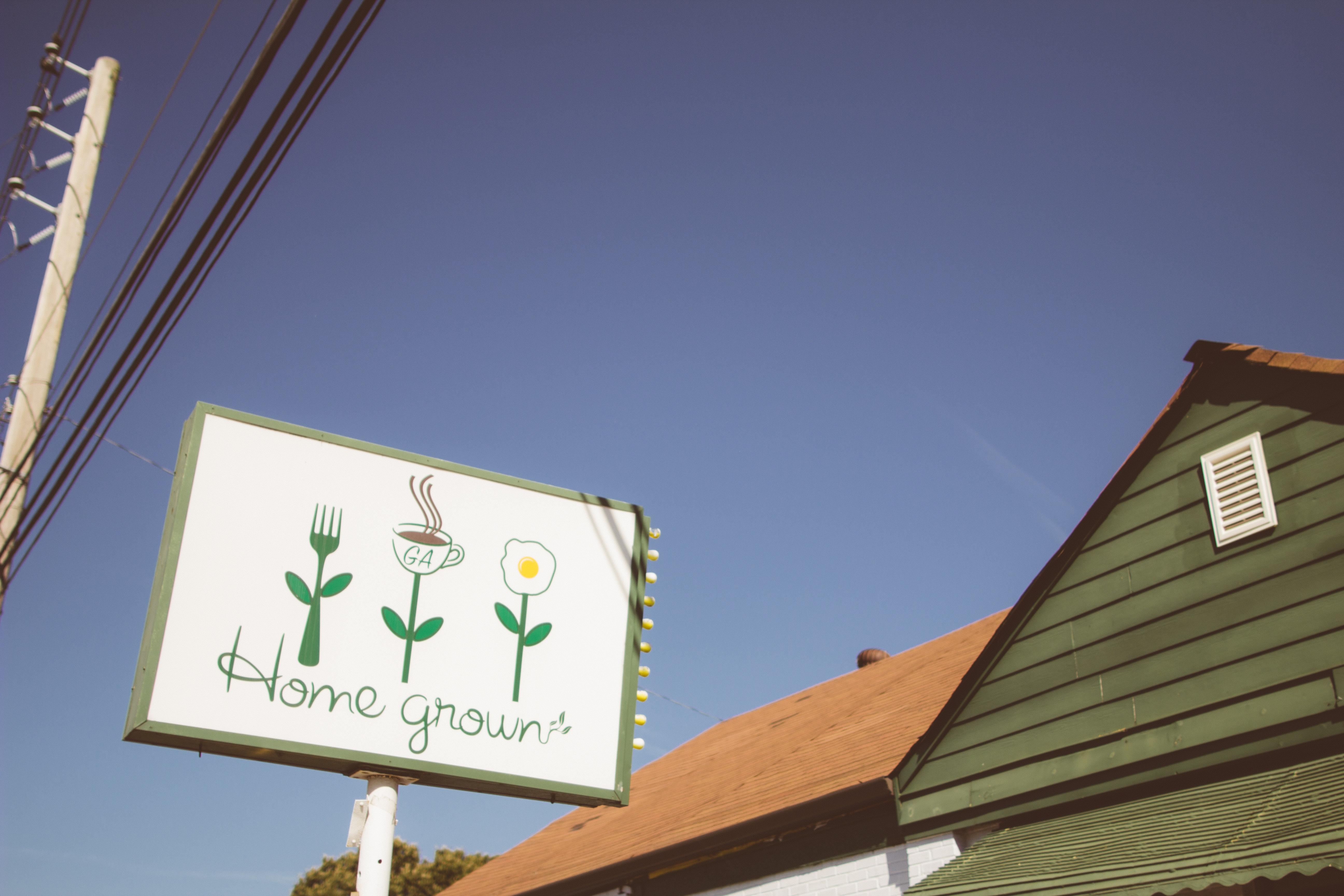 Homegrown - Sign